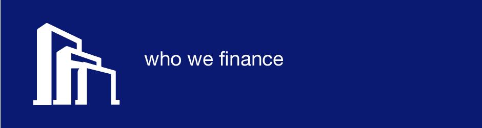 who we finance