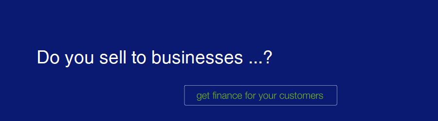 customer finance